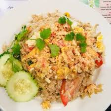 Fresh Basil Fried Rice