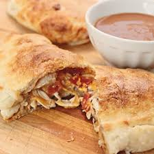 BBQ with Ranch Calzone