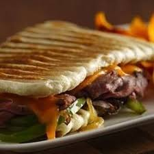 Chicken Cheese Steak Panini