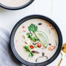 Coconut Milk Tom Kar Soup