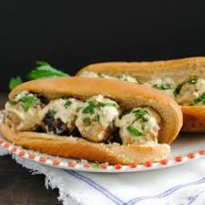 Grilled Meat Balls Sandwich