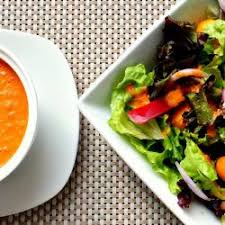 Small Soup and 1/2 Salad