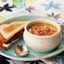 Small Soup and  1/2 Sandwich