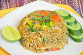Thai Fried Rice w/ Chicken