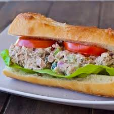 Low Fat Tuna Salad Sandwich
